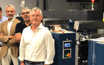 FERRE ETIQUETES acquires a WANJIE offset machine.
